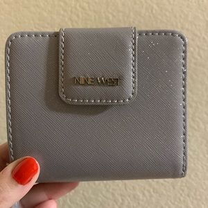 Nine West Medium Grey Wallet